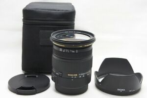 SIGMA 17-50mm F2.8 EX DC OS HSM Lens for Canon EOS EF-S Mount w/ Case #211023o