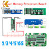 2S/3S/4S/5S/6S PCB BMS Protection Board For 18650 Li-ion Lithium Battery Charger