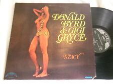 DONALD BYRD & GIGI GRYCE Xtacy Hank Jones Paul Chambers Art Taylor stereo LP
