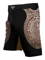 Raven Fightwear Men's Aztec Ranked BJJ MMA Shorts Brown