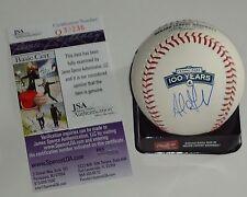 Adrian Gonzalez signed Fenway 100 Years OML baseball *Boston Red Sox* JSA Q30236