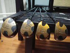 Vintage Wilson wood ×/30plus 4300 #1,3,4,5, and putting wedge R Steel, V/G grips