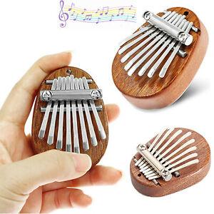 8 Keys Kalimba Mini Thumb Piano Finger Percussion Keyboard Pocket Musical Tool