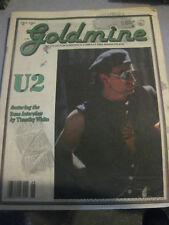 U2 Goldmine magazine USA VOLUME 16 NUMBER 24 ISSUE 270 1990  vg