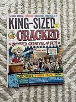 KING-SIZED CRACKED SECOND ANNUAL COLLECTOR'S SPECTACULAR, 1968, FUNNY FLIPS BOOK
