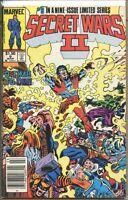 Secret Wars II 1985 series # 9 Canadian variant very fine comic book