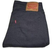 Mens Levi's 511 Slim Fit Dark Blue (3110) Stretch Denim Jeans W32 L30