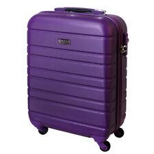 Handgepäck Hartschalen Reise Koffer Trolley Bordgepäck 30 Liter  Lila 815 B