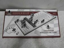 Across The Board Wooden Tabletop Horseracing Game