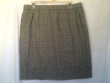 MIMI MATERNITY  PLAID SKIRT  ABOVE THE KNEE SIZE L NWT
