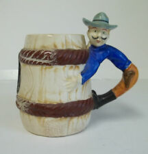 Cowboy Coffee Cup Mug Made In Occupied Japan