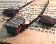 Traditional Authentic Tibetan Buddhist Om Prayer Box Amulet Talisman Necklace