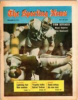 Sporting News 12/29 1973, Football magazine, Nick Buoniconti Miami Dolphins ~ Gd