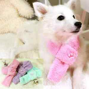 Luxury Pet Apparel- Fluffy Meow Velvet Pet Muffler Scarf Neckerchief Dog/Cat
