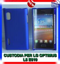 Pellicola + custodia back cover case BLU per LG Optimus L5 E610