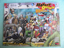 HARLEY QUINN INVADES SAN DIEGO COMIC-CON #1 GATE-FOLD COVER 1st PRINT JOKER