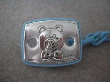 Clamp door Pacifier BEBE Valenti silver bear baby nappies children an12-2