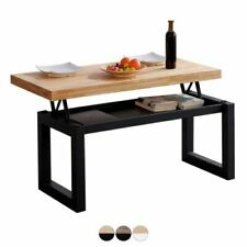 Mesas mesas de café de madera maciza para el hogar