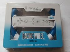 A11 RETRO NIB PSYCLONE RACING WHEEL FOR WII RUBBERIZED HANDLES GAMING ACCESSORY