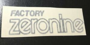 80's  Zeronine  Decal Sticker Old School BMX  Number Plate Cook Nomura SE CW ACS