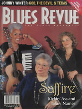 SAFFIRE April 2002 BLUES REVUE Magazine