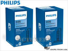 NEW! PHILIPS D3S 5000K WHITE VISION +120% 42403WHV2C1 GEN2 HID BULBS Germany