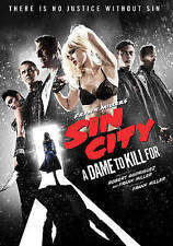 SIN CITY: A DAME TO KILL FOR- JESSICA ALBA  EVA GREEN  2014 EROTIC THRILLER DVD
