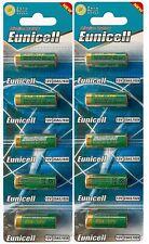 ENVOI SOUS SUIVI EUNICELL 10 piles 23A -  - MN21 A23 LRV08 E23A 12V Alcaline