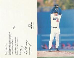 HIDEO NOMO ( JAP ) - Baseball - DRUCK-Autogramm