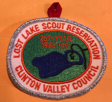 1991 25th Anniversary  Lost Lake Scout Reservation. CVC