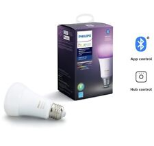 Philips Hue White and Color Ambiance A19 LED 60W Light Bulb 548487 Dimmable WiFi