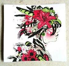 Beautiful Art PVC Sticker, DJ Okawari, Tattoo Style, Japan, Luggage Laptop Phone
