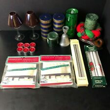 Lot of Christmas Candles & Decorations Xmas | Used | Make Offer