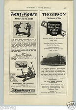 1928 PAPER AD Kent Moore Motor Stand Truck Wheel Dolly Car Auto Neva Lost Cap