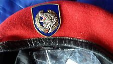 SERBIA BERET with badge from the special unit JSO 1999.RR