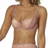 Triumph Amourette Charm WHP02 Underwired Half Cup Padded Bra Rust 34B CS