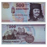 Pick 196b Ungarn / Hungary 500 Forint 2008 Unc. / 6434578vvv