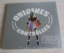 RARE CD ALBUM DIGIPACK ORIGINES CONTROLEES 13 TITRES NEUF IMMIGRATION ALGERIENNE