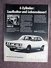 Werbung - Datsun 240K GT 1976   /   54