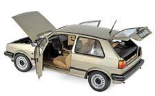 NOREV COLLECTORS 1:18  VW GOLF CL 1988 BEIGE METALLIC METALLIZZATO ART 188519