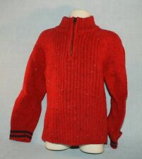 Sonoma Boys Small (4) Long Sleeve Red Sweater