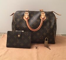 Louis Vuitton: LV Monogram Speedy 25 and French Wallet Set