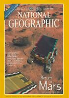 National Geographic (Aug 1998) (MARS in 3-D, NASA Sojourner, TITANIC in 3-D)