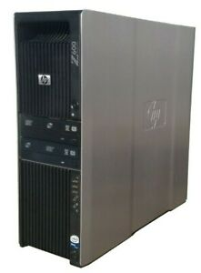 HP Z600 Workstation Desktop PC 2.7GHz 12 Core Intel Xeon 16GB RAM 500GB HD Linux