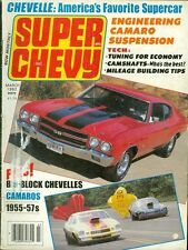 1982 Super Chevy Magazine: Big-Block Chevelles/Camaro Suspension/Camshafts
