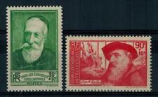 "(a19) timbres France n° 343/344 neufs** année 1937 ""MNH"""