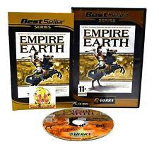 Empire Earth PC Video Game RTS Strategy