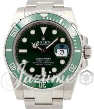 Rolex Submariner Hulk 116610LV Anniversary 40mm Green Ceramic SS BRAND NEW 2017