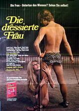 Sexploitation THE DISCIPLINED WOMAN original vintage 1sh movie poster 1972