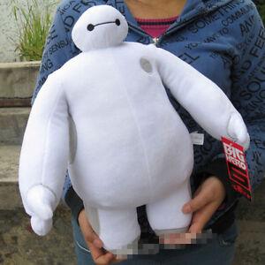 30cm BIG HERO 6 Baymax Plush Toy Doll ROBOT Sitting Stuffed Soft Birthday Gift